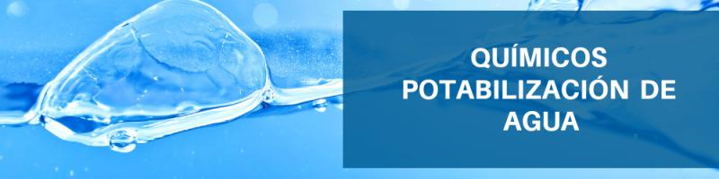 Químicos Potabilización de Agua Servimezclas